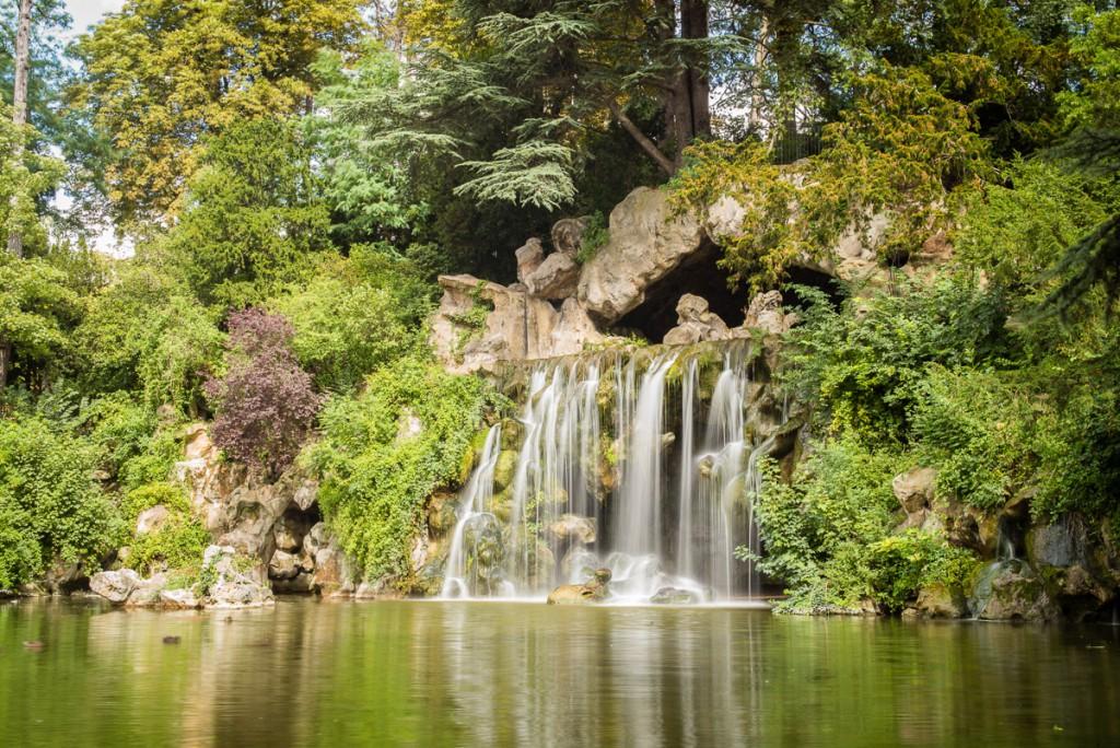 Grand Cascade im Bois de Boulogne Leica M mit 50mm Summilux asph. bei f/16 1sec ISO 100, ND-Filter