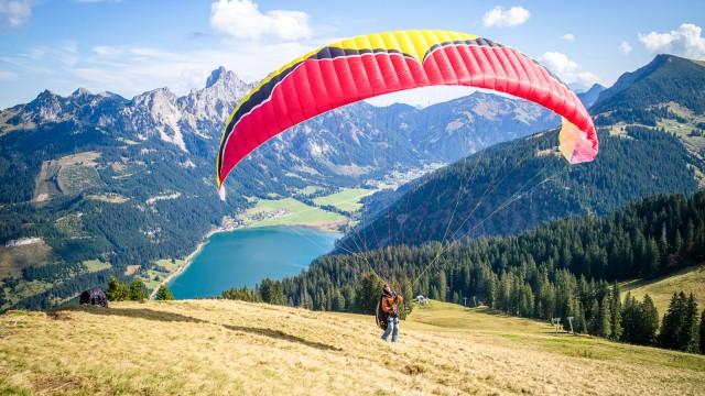 Alpen-Fotos in Farbe