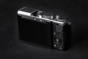 Fujifilm X70 Rückseite