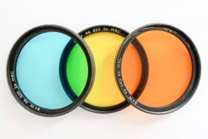 Farbfilter für die Schwarzweiss-Fotografie