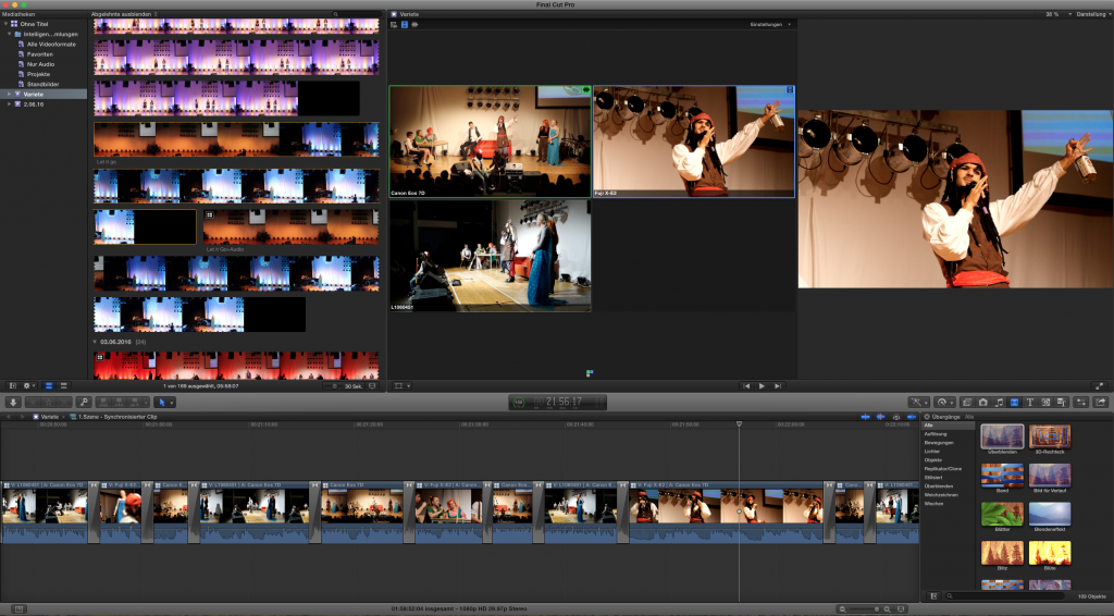 Screenshot Final Cut Pro