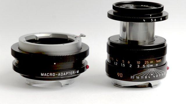Leica Macro-Elmar-M 1:4/90 mm