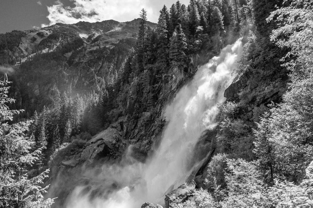 Wasserfälle von Krimml, M9 und Elmarit 21mm, 1/2000sec bei f/2.8 ISO 160
