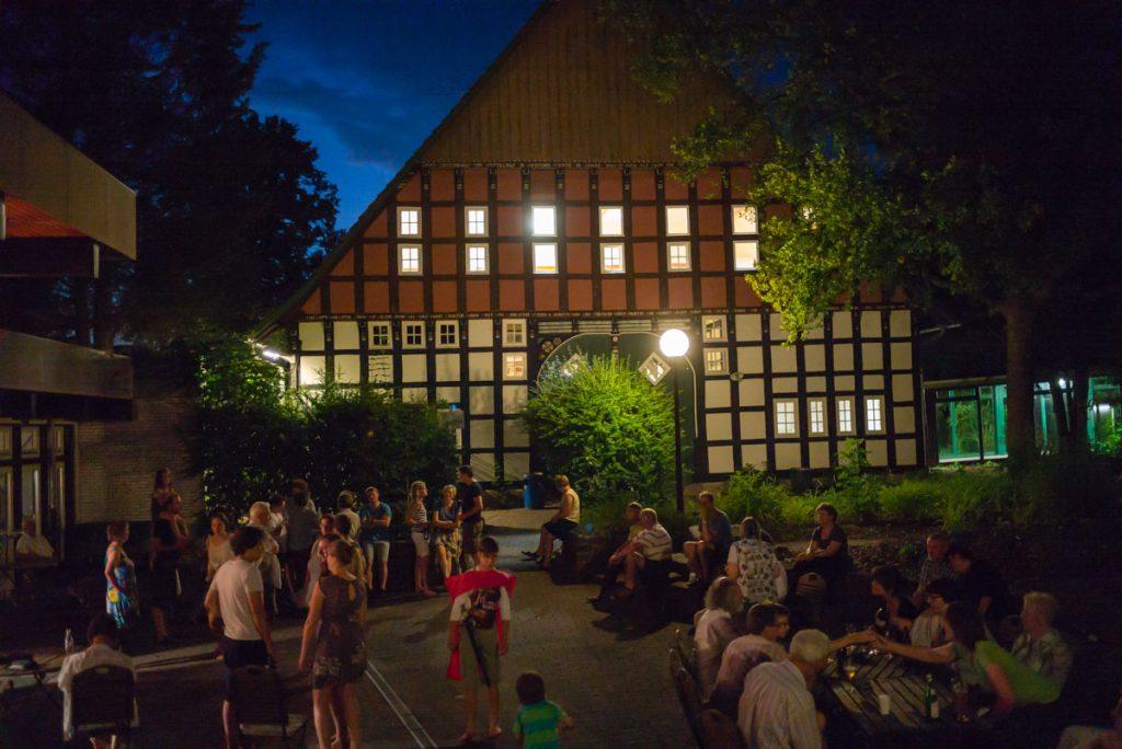 Sommerabend am Jugendhof