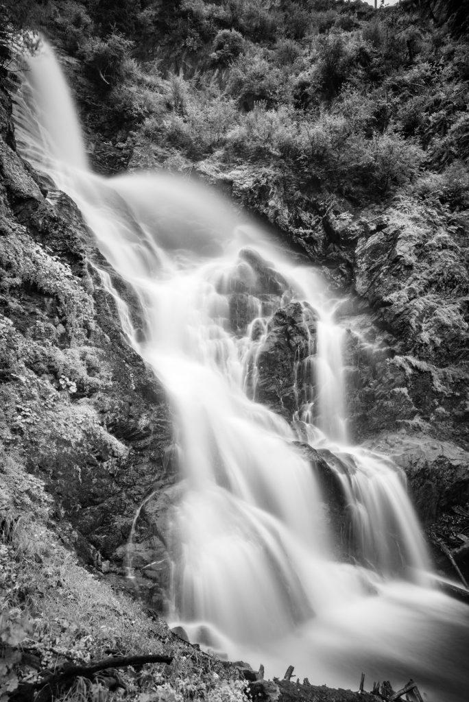Der Wasserfall bei Mariahilf, Leica M240 mit 21mm Super-Elmar bei f/3.4 24sec ISO 100 (pull)