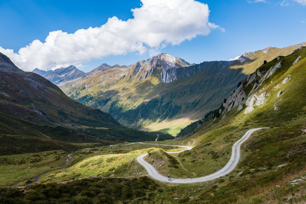 Südtirol: Blick auf die Weisse Wand