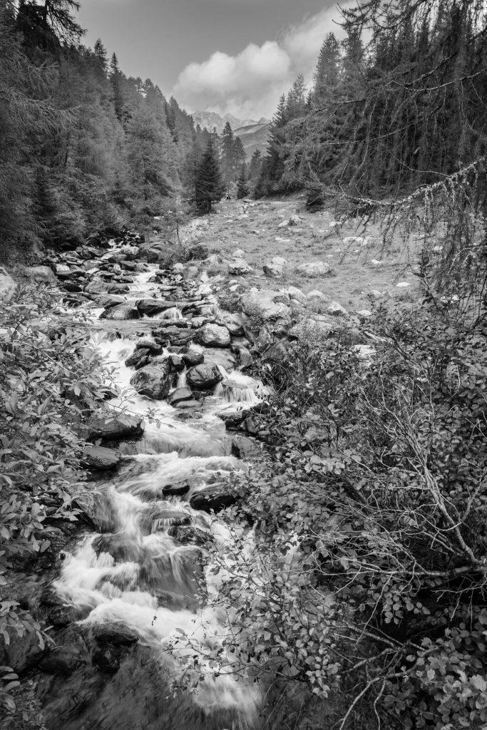 Der Trojer Almbach, Leica Q bei f/16, 1/13sec ISO 100