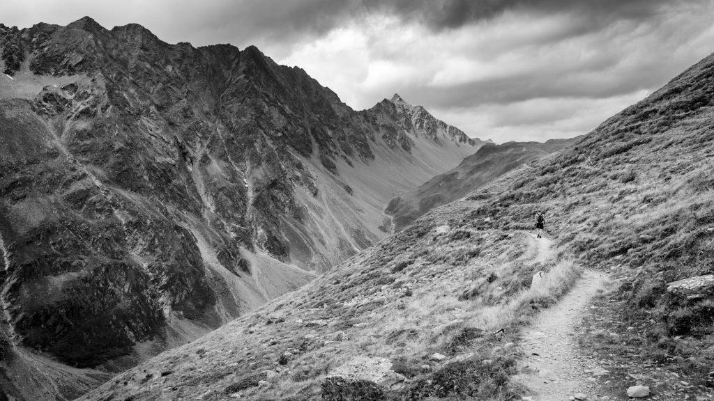 Der Weg zur Reichenberger Hütte