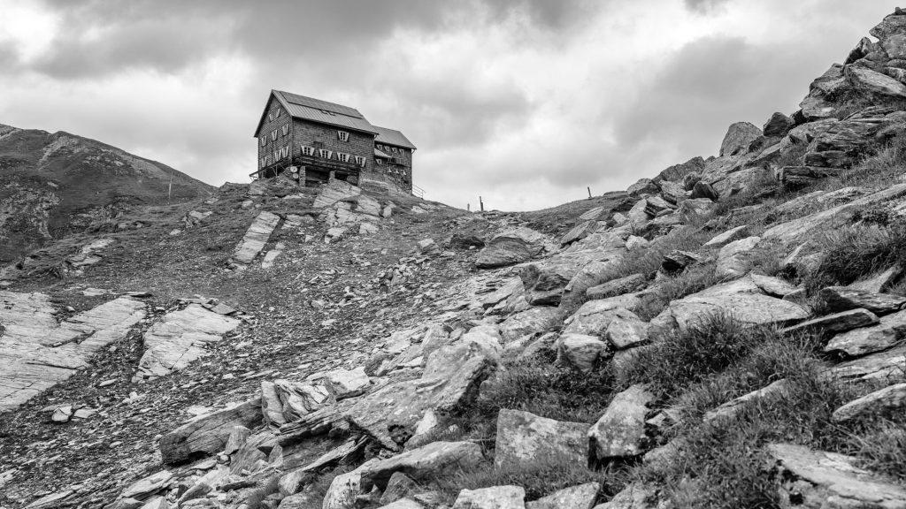 Die Reichenberger Hütte, 2600m über NN
