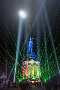 Der Hermann leuchtet 2016, Leica Q bei f/1.7  1/15sec  ISO 1250