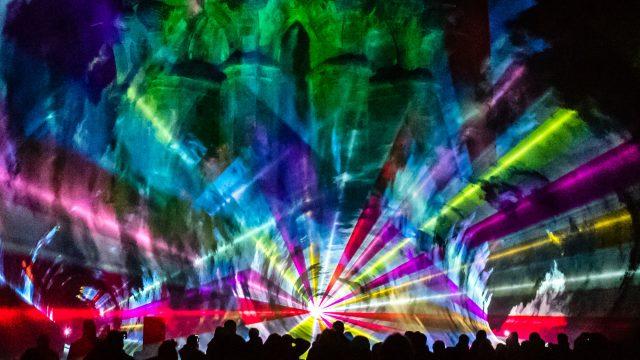 Lasershow am Hermann: ISO-Orgie im Teutoburger Wald