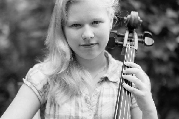 Porträt mit Cello, M9 mit 50mm Summilux
