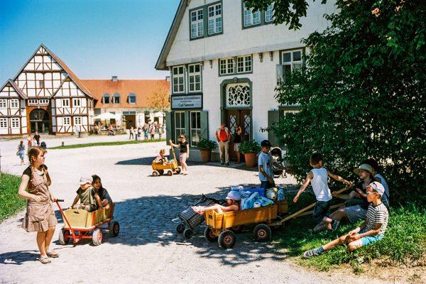 Am Paderborner Dorf, Leica M2 mit 35mm Summilux, Kodak Portra