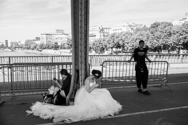 Neben dem Louvre beliebter Ort für Hochzeits-Shootings
