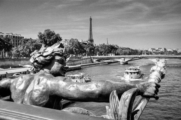 auf der Pont Alexandre III