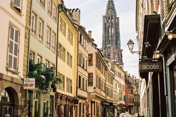Nahe des Münsters