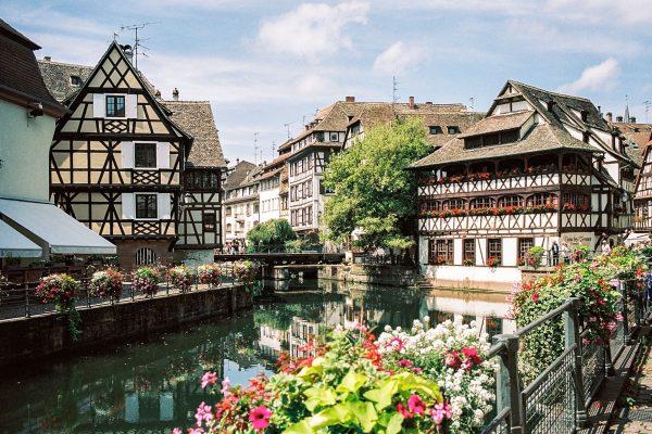 Straßburg: Petit France, mit Leica M6 und 35mm Summilux, Kodak Portra