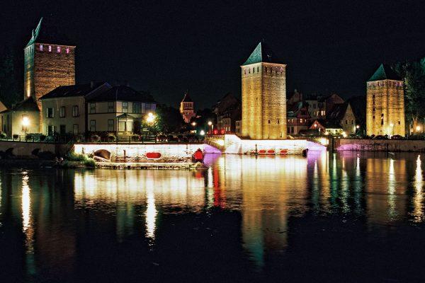 Ponts couverts, M6 mit 35mm Summilux, Langzeitbelichtung