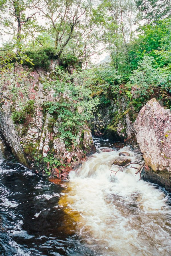 Untere Steall Falls