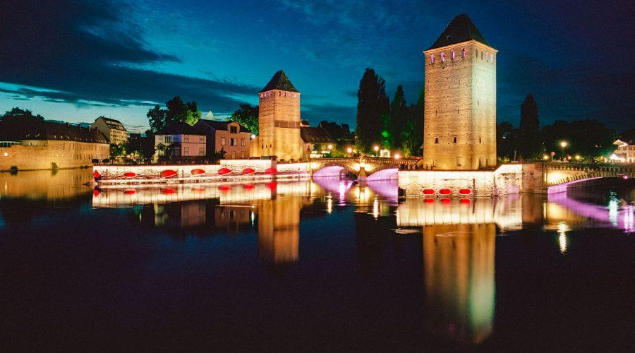 Les Ponts Couverts, Langzeitbelichtung mit Kodak Portra