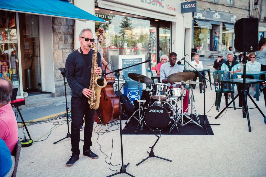 Jazz-Festival in Vannes, Kodak Portra