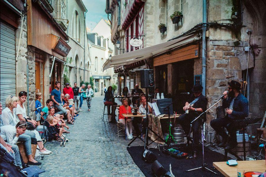 Jazz Festival in Vannes, Kodak Portra
