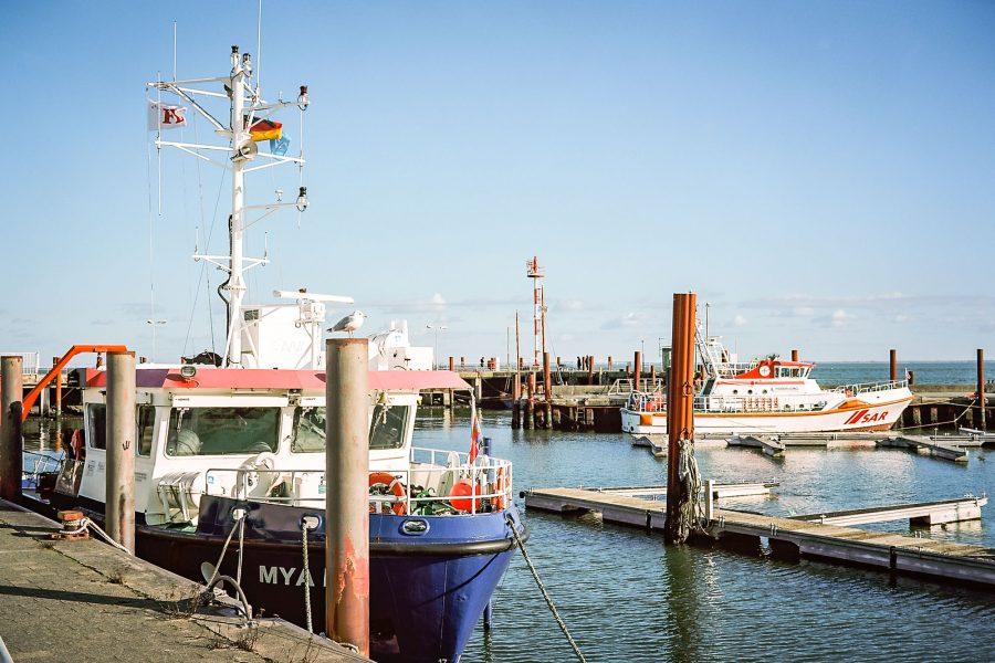 Hafen von List, Fuji GW 690 bei f/8 1/500sec, Kodak Portra 160