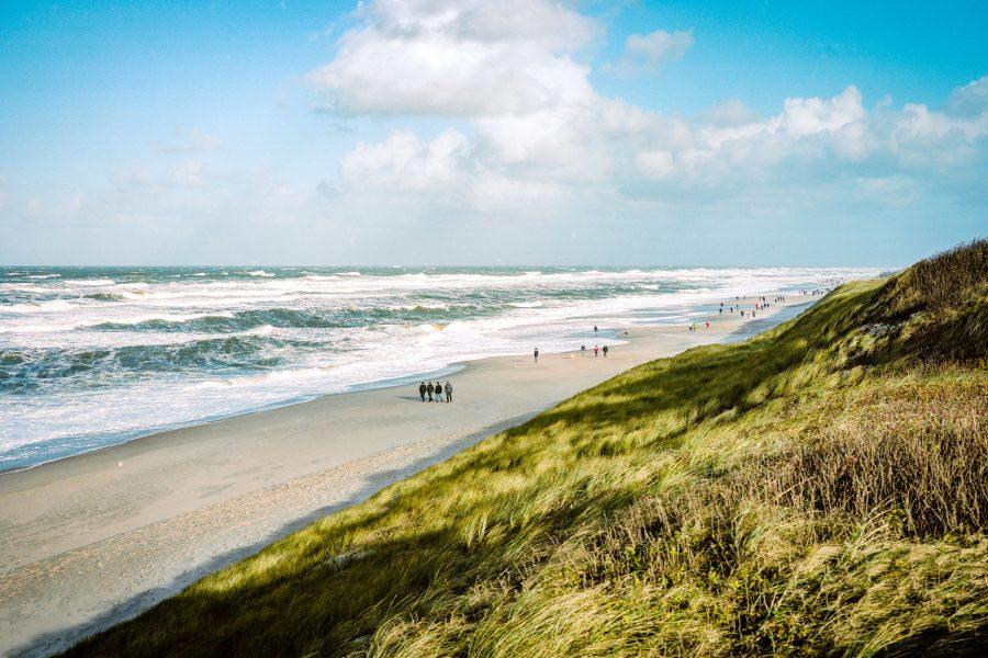 Strand bei Wenningstedt, Fuji GW 690 bei f/8 1/500sec, Kodak Portra 160