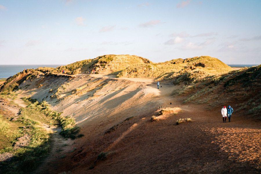 Morsum-Kliff, Fuji GW 690 bei f/8 1/500sec, Kodak Portra 160