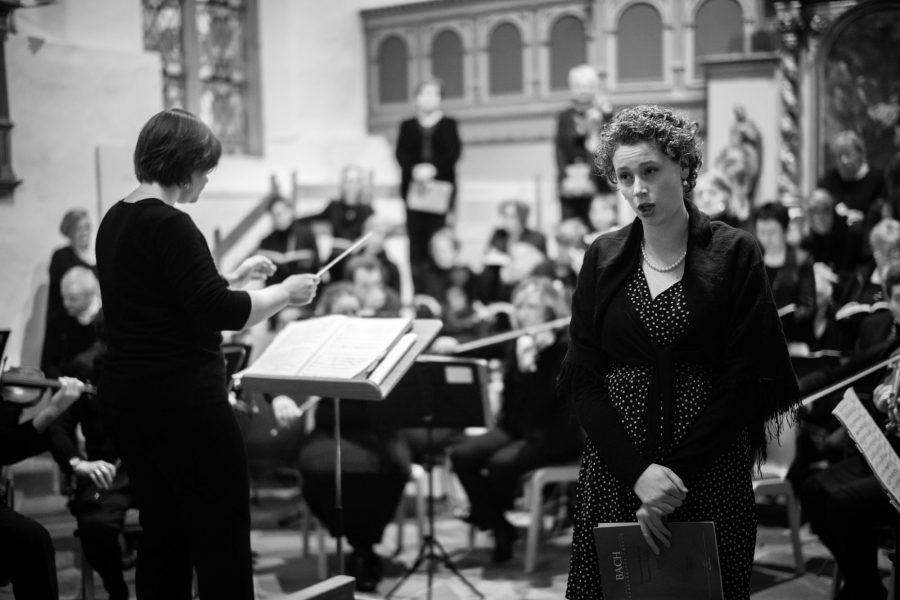 Sarah Romberger, die die Alt-Arien wunderbar sang