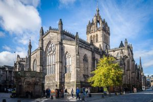 St. Giles' Cathedral, Edinburgh. M10 mit 28mm Summicron bei f/5.6  1/500sec  ISO 100