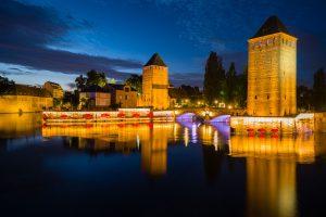 Strassbourg: Les Ponts Couverts. M10 mit 21mm Super-Elmar bei f/3.4  4sec  ISO 100