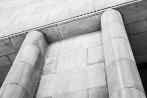 Architektur: Bielefelder Kunsthalle. M10 mit 50mm Summilux bei f/5.6  1/180sec  ISO 100