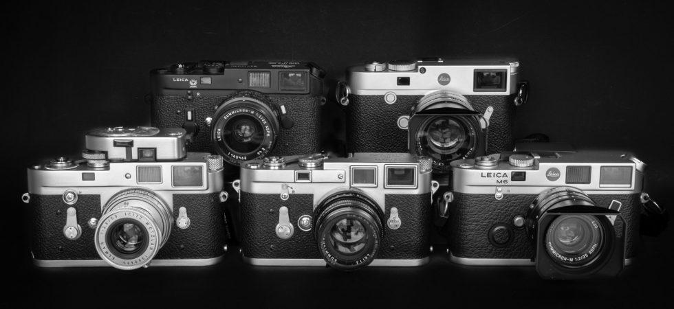 Die Messsucher-Kameras von Leica