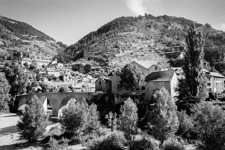 Saint Enimie, Leica M6 TTL, 35mm Summicron, Kodak TMax, Orange-Filter