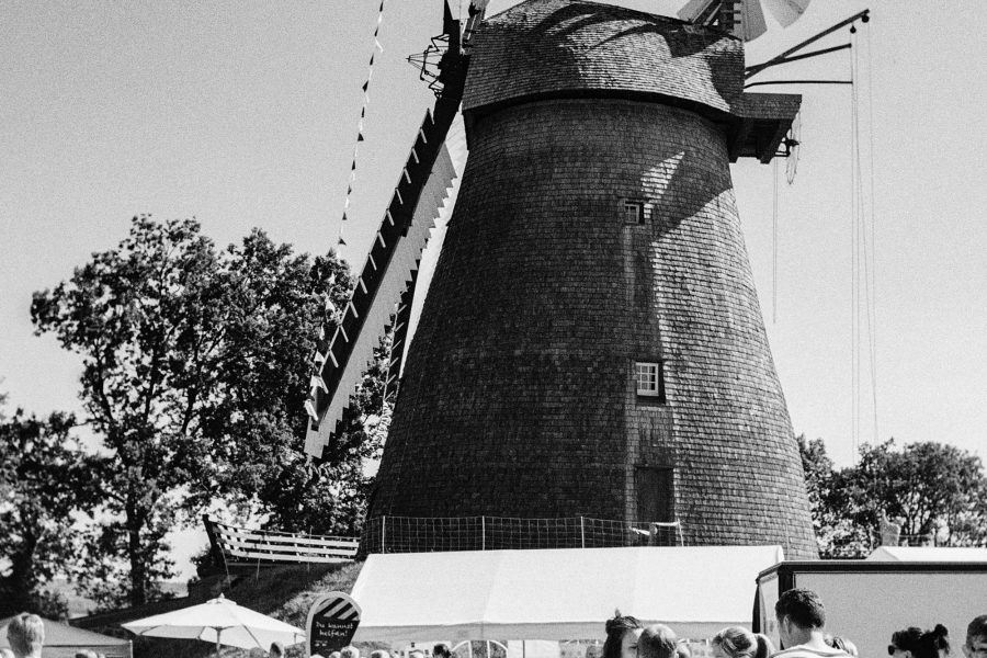 Windmühlen-Fest in Exter, Leica IIIf mit 3,5cm Summaron, Orange-Filter