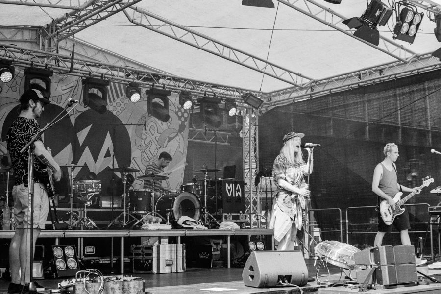 Soundcheck, Leica IIIf mit 5cm Summicron I, Orange-Filter