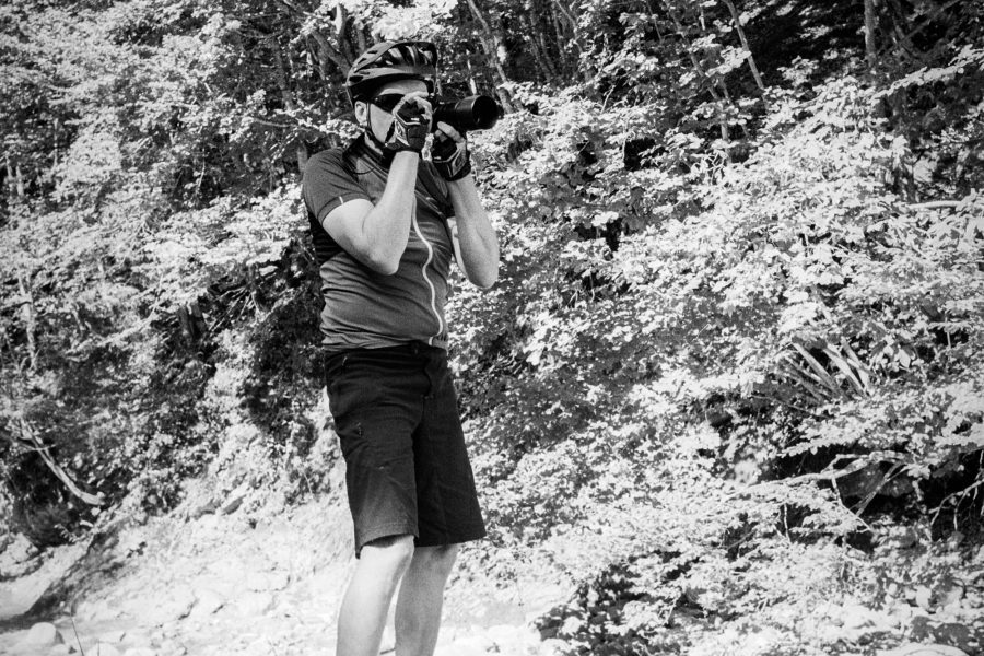 Ein motivierter Fotograf