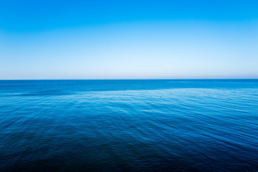 incredibly blue