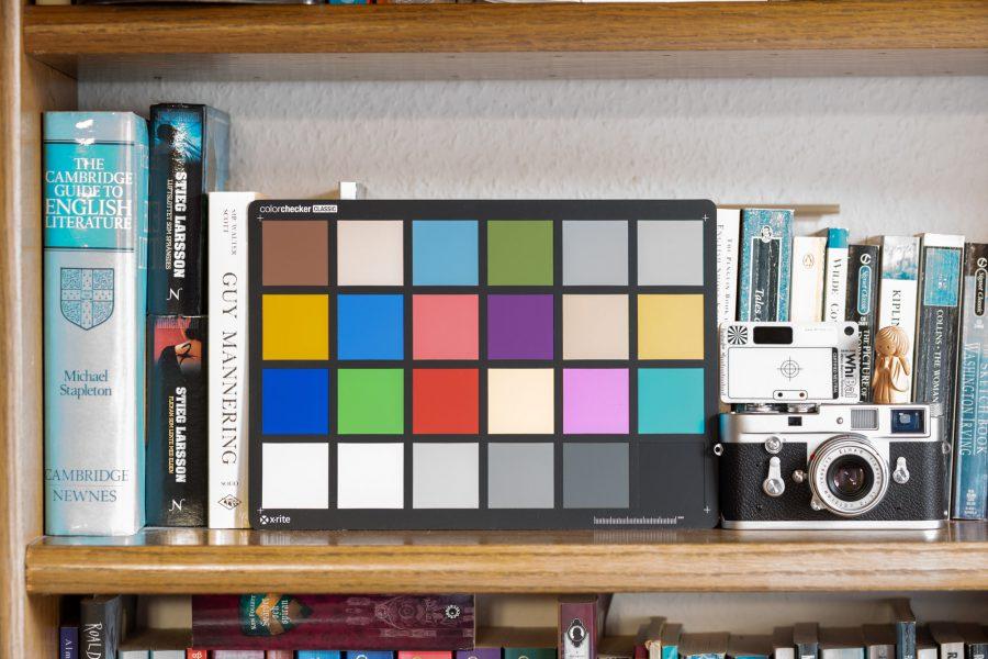 100 ISO-Datei in Lightroom eingestellt