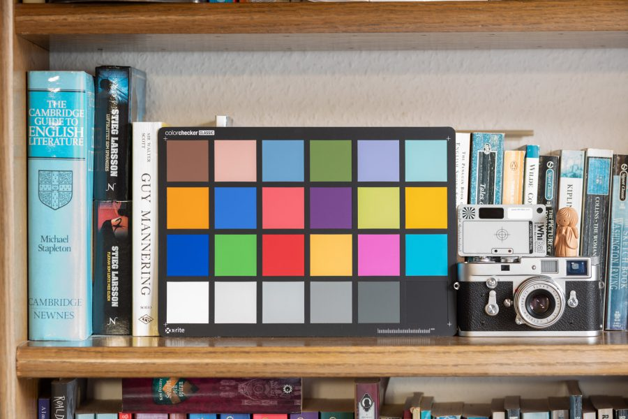 200 ISO-Datei in Lightroom eingestellt