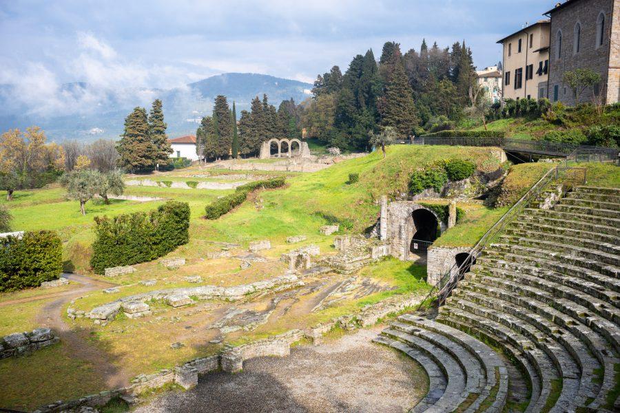 Römische Siedlung in Fiesole