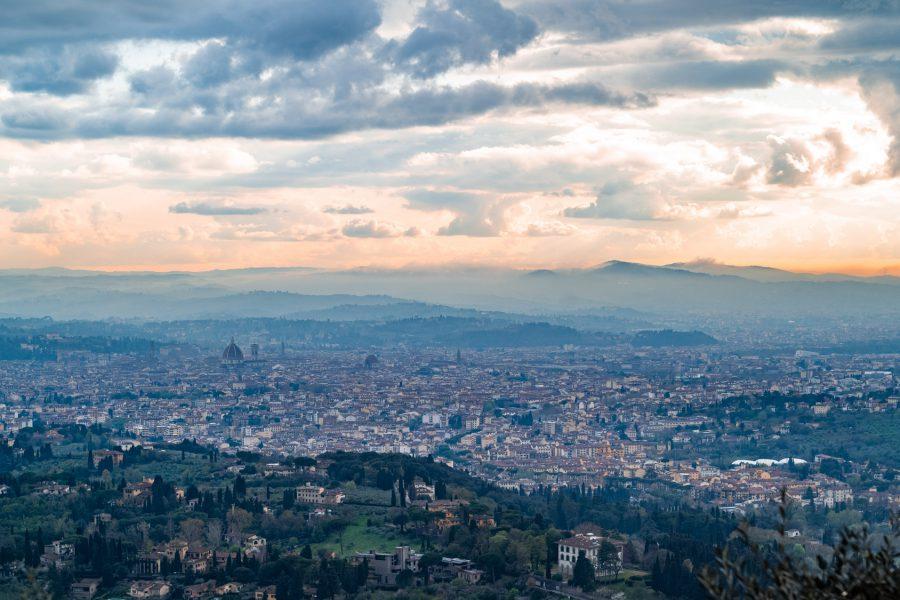 Florenz im Abendlicht