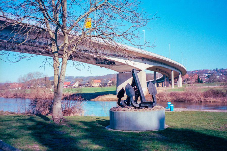 Unter der Weserbrücke