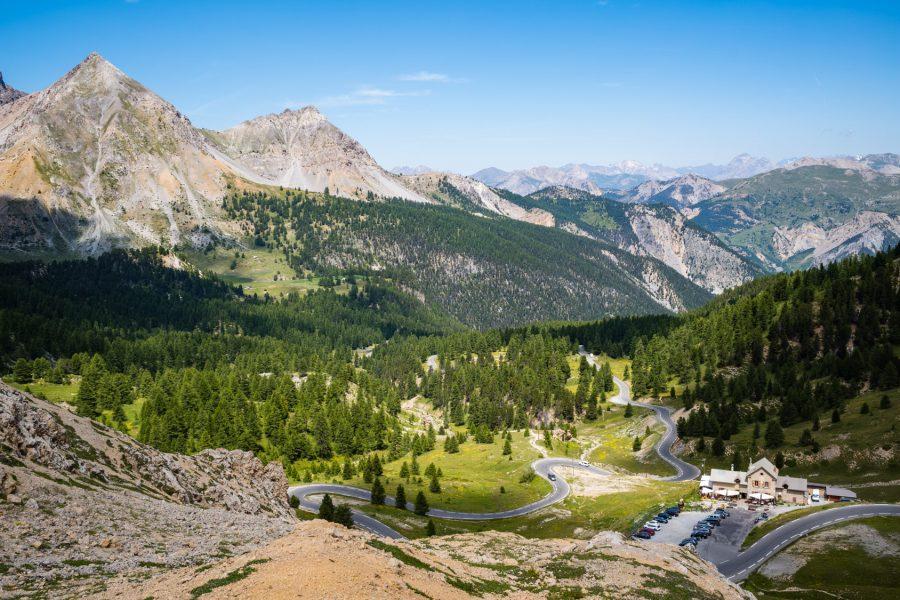 Am Col d'Izoard: Die andere Seite Richtung Briancon