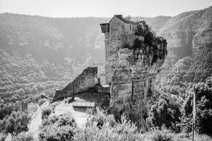 Chateau de Peirelade, Tarn. Leica M4