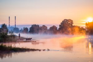 Die Weser bei Vlotho. Leica M10 mit 90mm Summarit bei f/4.8 1/500s  ISO 200