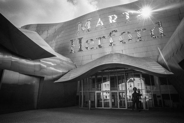 """Am """"Marta"""". Leica M4 mit 21mm Super-Elmar."""
