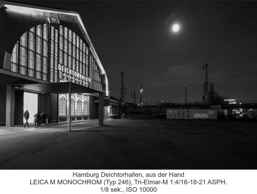 Hamburg Deichtorhallen, aus der Hand