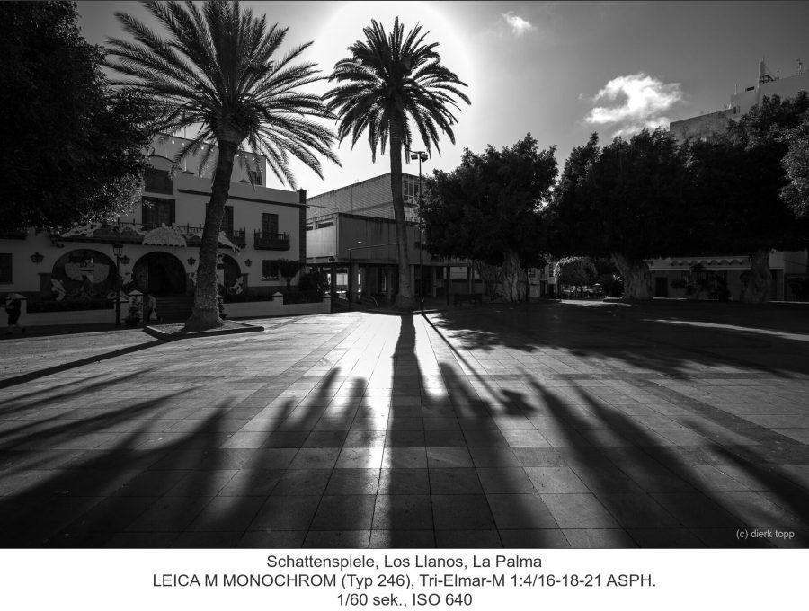 Schattenspiele, Los Llanos, La Palma